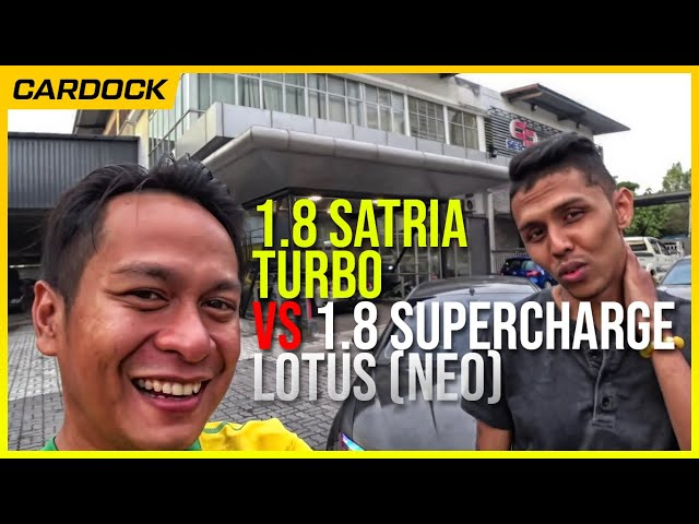 Part 2 : 1.8 Satria Turbo VS 1.8 supercharge Lotus (racun)   EvoMalaysia.com
