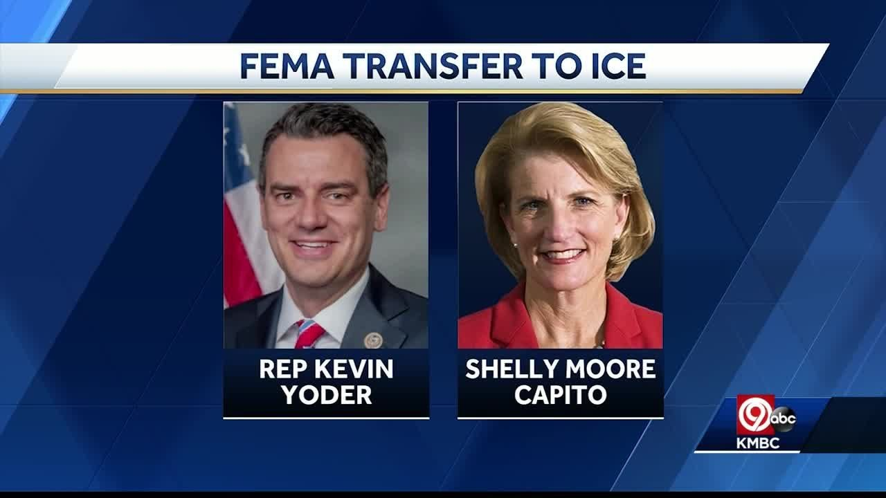 Kevin Yoder Signed Off On Transfer Of Funds From FEMA To ICE
