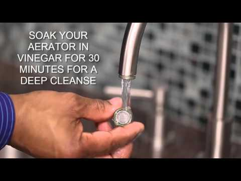 How to Clean Your Aerator
