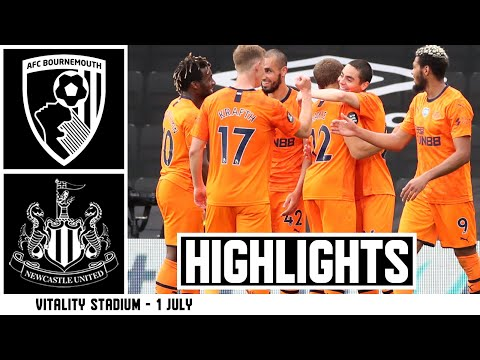 Bournemouth Newcastle Goals And Highlights