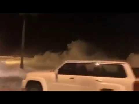 حالة الطقس في السعودية الان جدة و الوجه 2018 11 03 Youtube