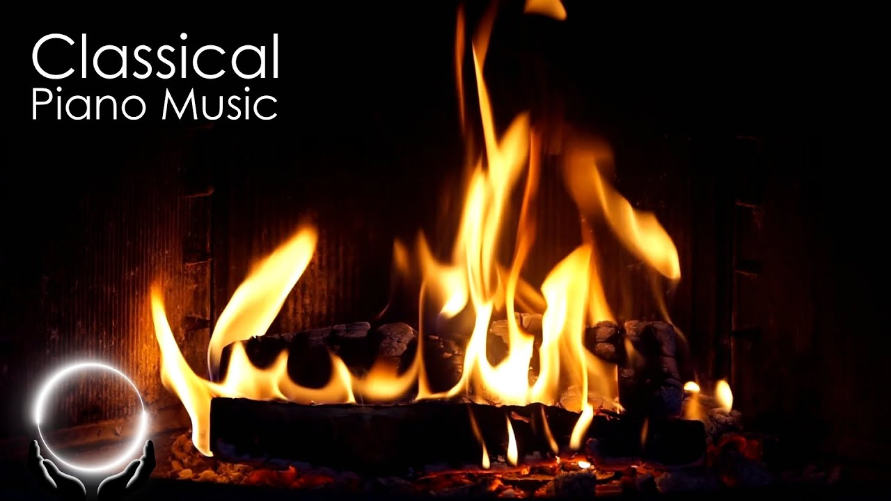Download Classical Piano Music & Fireplace 24/7 - Mozart, Chopin, Beethoven, Bach, Grieg, Satie, Schumann