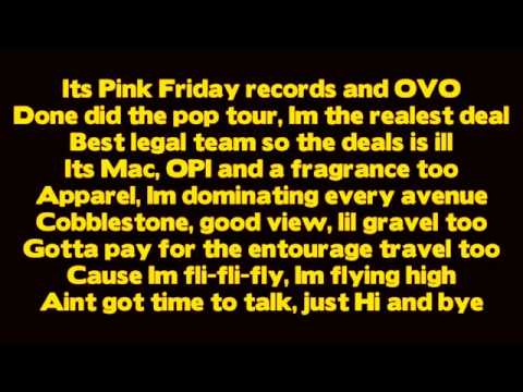 Drake  Make Me Proud ft Nicki Minaj  Lyrics  Take Care
