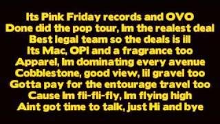 Drake - Make Me Proud ft Nicki Minaj [ Lyrics ] (Take Care)