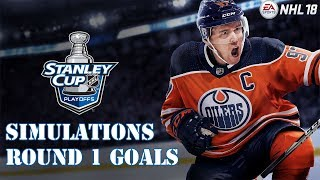 NHL 18 Stanley Cup Playoff Simulations - All Goals From Round 1 thumbnail