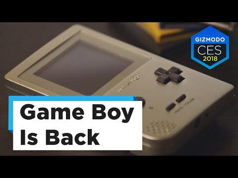 A Look At The Sleek New Game Boy   CES 2018