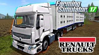 Renault Premium Farming Simulator 17 Mods
