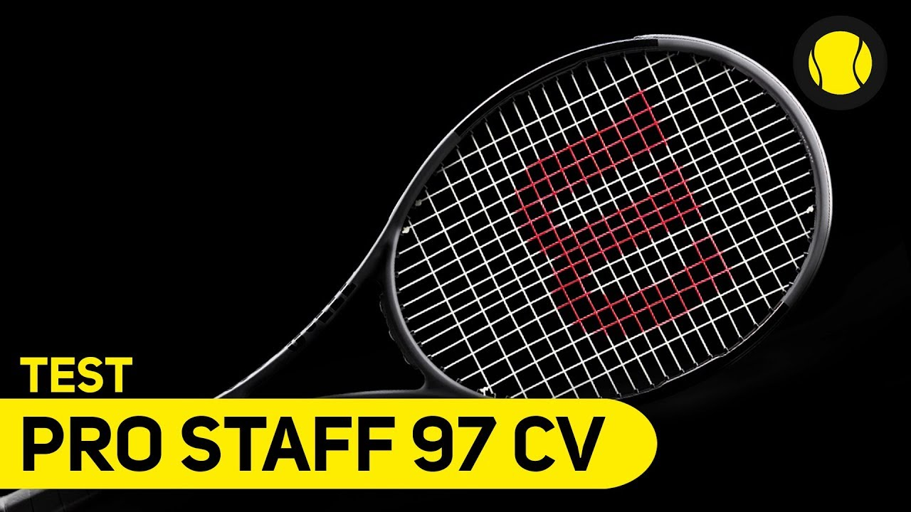 Wilson Pro Staff 97 Countervail | Racket Test | Tennis-Point - YouTube