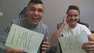 NEVER HAVE I EVER WITH MY LITTLE BROTHER! (OMG)