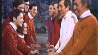 The Osmond Brothers sing with the Williams Brothers