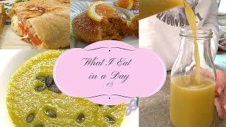 WHAT I EAT IN A DAY - Cosa mangio in un giorno- day#3