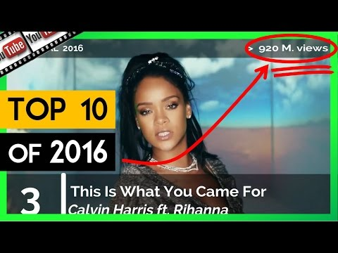 Download TOP 10 Most Popular YouTube Music Videos of 2016