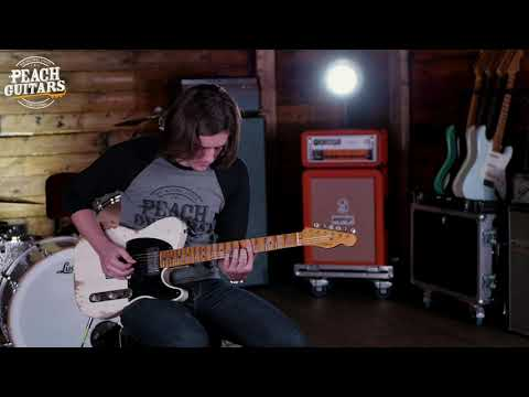 Fender Custom Shop Limited &39;51 Tele Heavy Relic HS Aged White Blonde