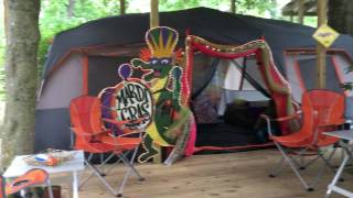 Alligator Bayou Glamping Tent in Louisiana