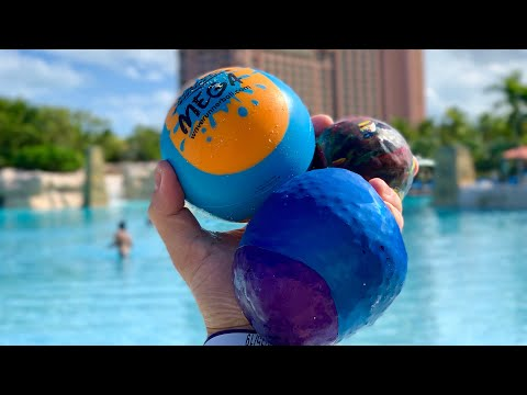 Make A Water Bounce Ball For Only $1! Don't Get Ripped Off On Vacation!