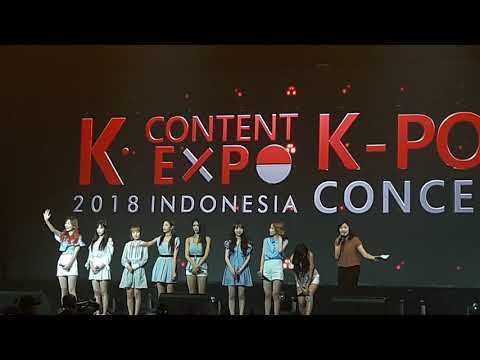[061018] LOVELYZ || KOCCA INDONESIA 2018