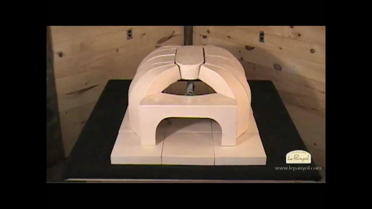 Montage dun four à bois Le Panyol modèle 66×99  YouTube
