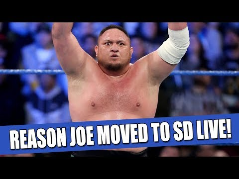 The Real Reason Samoa Joe Moved to Smackdown Live