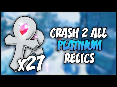 ALL PLATINUM RELICS - Crash Bandicoot 2: N. Sane Trilogy (HD) 100 Subscribers!