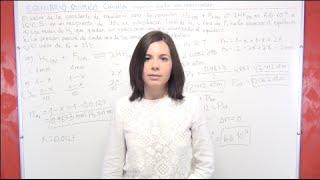 Ejercicio 16 Equilibrio Químico: cálculo de Kp y presiones parciales para la formación de HF
