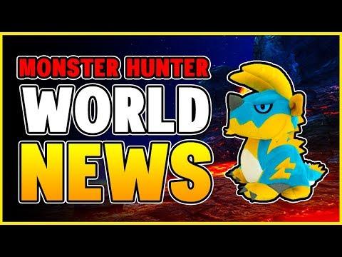 MONSTER HUNTER WORLD NEWS - New Updates Coming + Leaks and Rumors - MHW