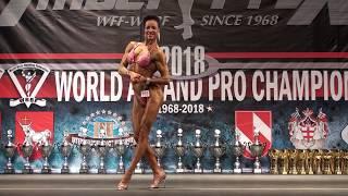 Hanna Skytta.Posing. Worldchampionship 2018