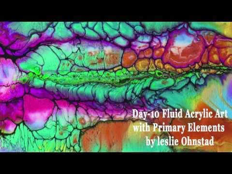 Iridescent Floetrol Detailed Swipe Acrylicpouring Com