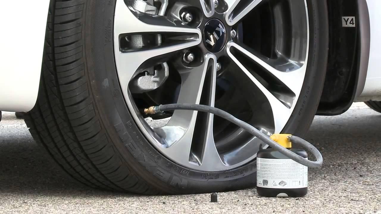 Kia Soul: Using the Tire Mobility Kit