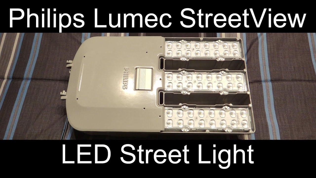 Philips lumec 160watt streetview svm led street light