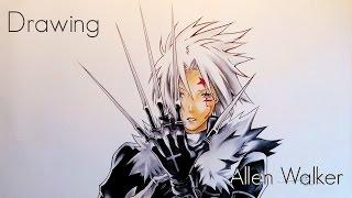 Drawing Allen Walker - D.Gray-man Hallow