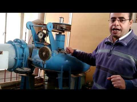 تجربة دكتور محمد فكرى : Axial Hydraulic Turbine : Performance of Kaplan turbine