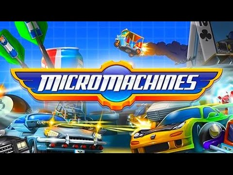 Micro Machines - Best Android Gameplay HD