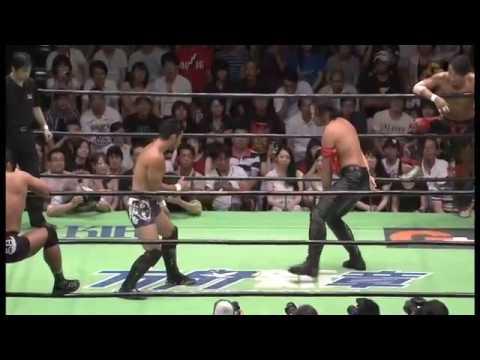 NOAH - Shinsuke Nakamura & Naomichi Marufuji vs KENTA & Takashi Sugiura