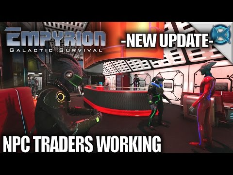 Empyrion Galactic Survival | New Update NPC Traders Working | Let's Play Gameplay | Alpha 6 S11E13