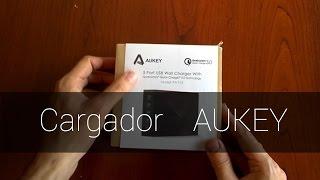 Cargador Aukey USB 3.0 5 puertos