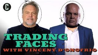 "Vincent D'Onofrio (Daredevil's Kingpin and Director of ""The Kid"") Plays Trading Faces Guessing Game"