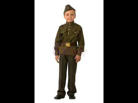 Карнавальный костюм Солдат для мальчика.