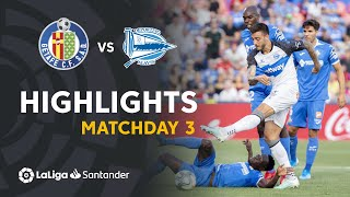 Highlights Getafe CF vs Deportivo Alaves (1-1)