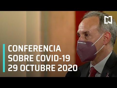 Conferencia Covid-19 en México - 29 octubre 2020