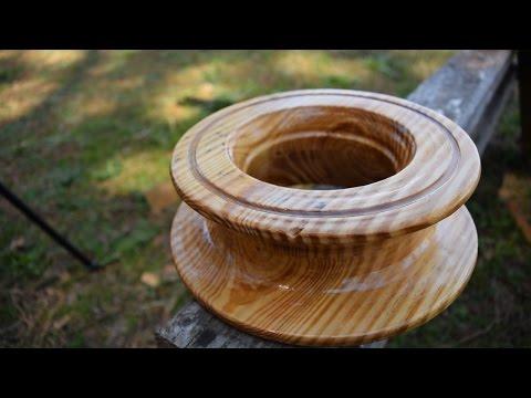 Wooden Cuban Yoyo Fishing Reel