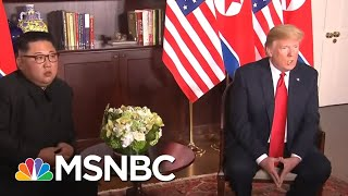President Donald Trump Outreach Brings Kim Jong Un Into World Community | Rachel Maddow | MSNBC