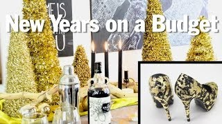 Easy New Years Eve Decor And Accessories, Broke For The Holidays