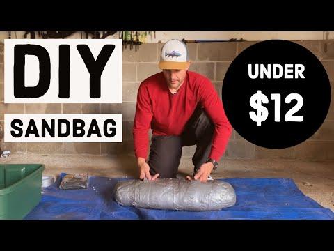 HOMEMADE DIY SANDBAG (Under $12) // How To Make Your Own Sandbag For Exercise