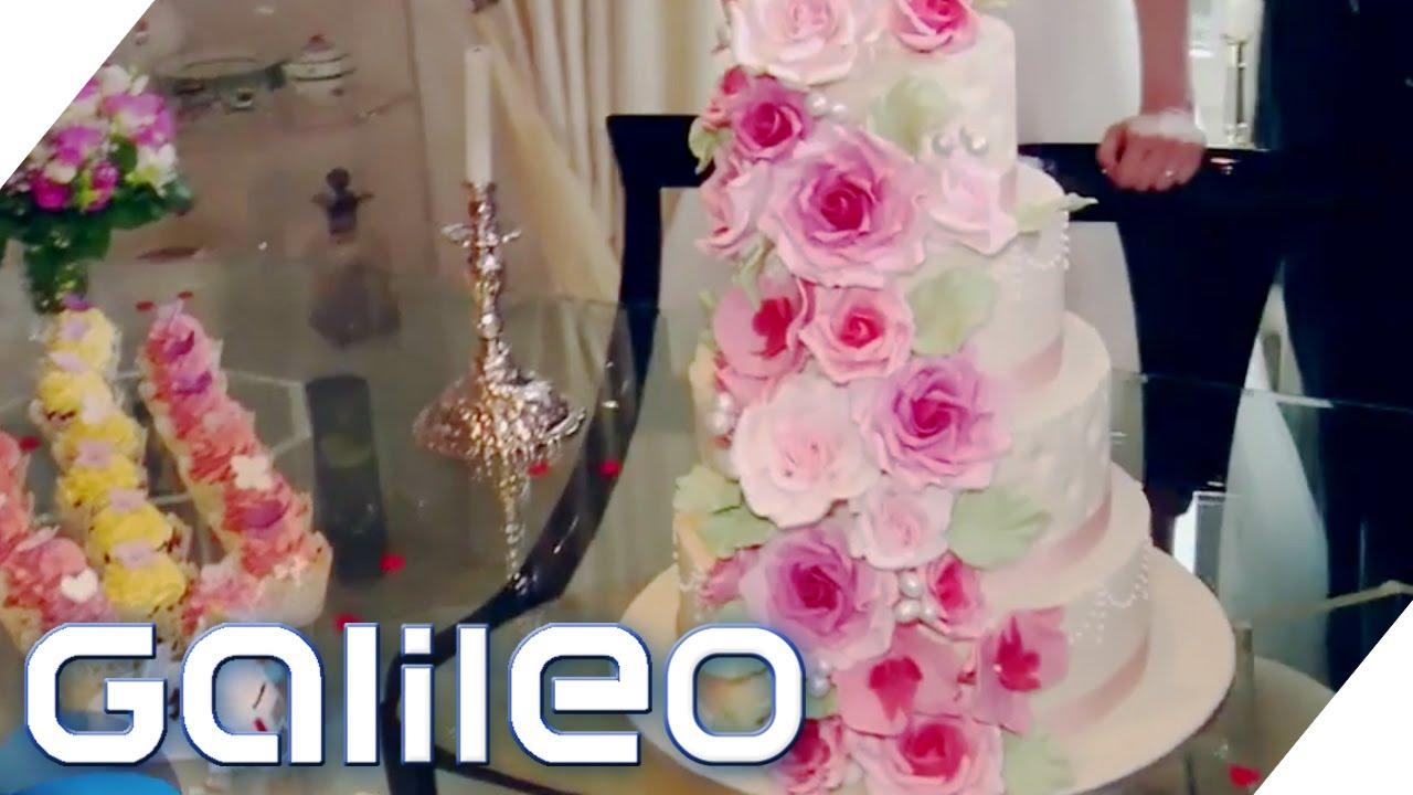 Hochzeitstorten Konditor In 24 Stunden Galileo Prosieben Youtube