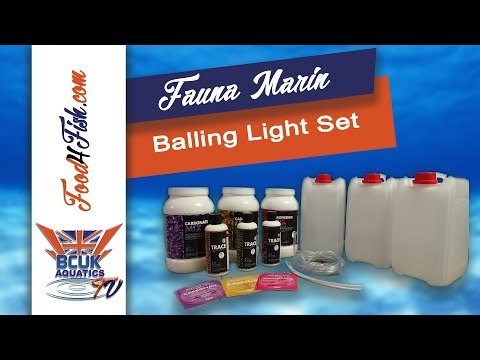 Unboxing The Balling Light Set By Fauna Marin