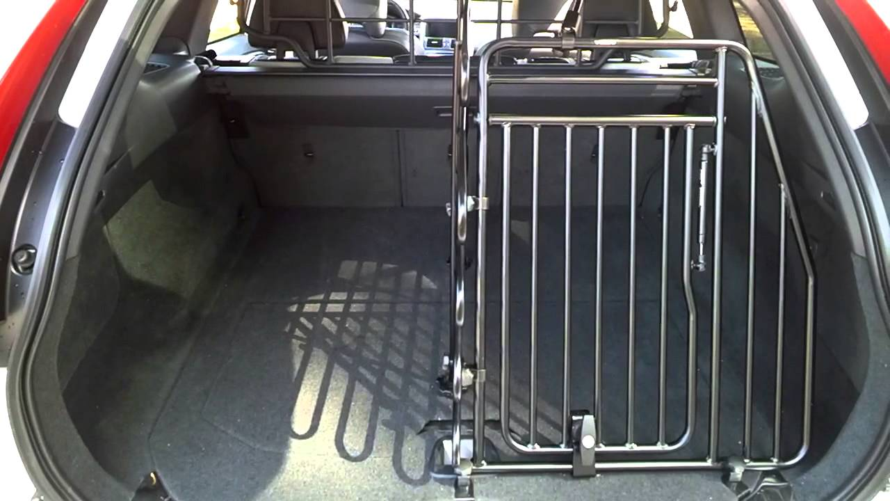 Dog Cage for 2015 Volvo XC60 - YouTube
