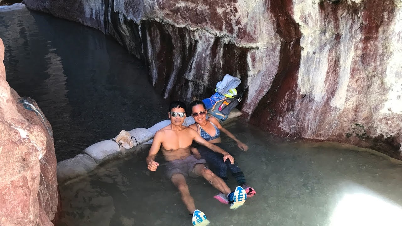 Arizona Hot Springs 3 Miles Trail To Colorado River Fun