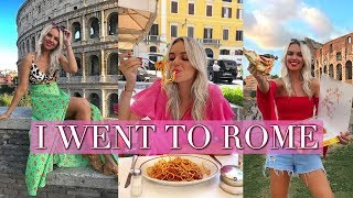 COME WITH ME TO ROME - ROME TRAVEL VLOG 2018