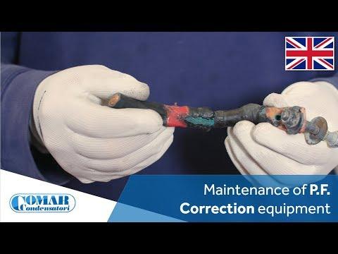 Maintenance Of Power Factor Correction Equipment   COMAR Condensatori (English Sub)