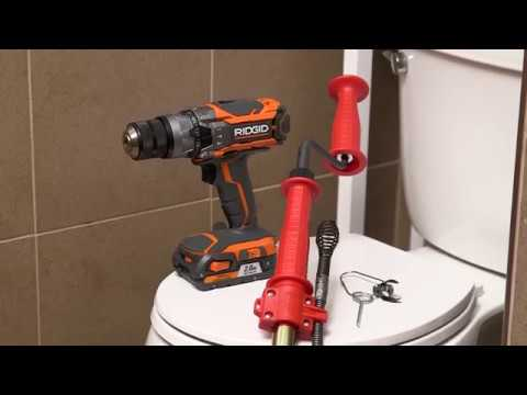 How To Use Ridgid K 6p Xl Toilet Auger Youtube